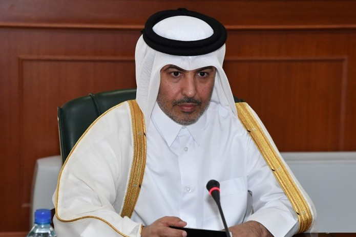 Министр иностранных дел Абдулазиз Камилов принял нового посла Катара