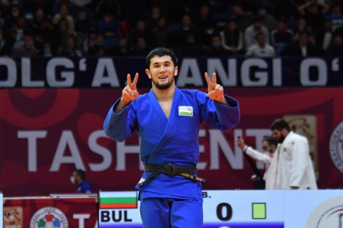Узбекистанец Давлат Бобонов  завоевал серебро на ЧМ по дзюдо в Будапеште