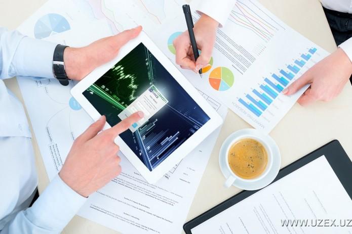 На УзРТСБ впервые заключены форвардные контракты на 1,4 трлн. сумов
