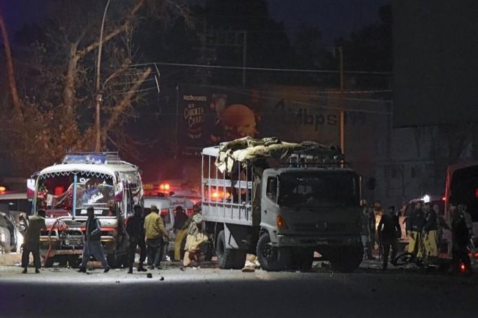 6 человек погибли, 17 пострадали в итоге взрыва наюго-западе Пакистана
