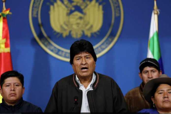 Президент Боливии Эво Моралес добровольно сложил полномочия