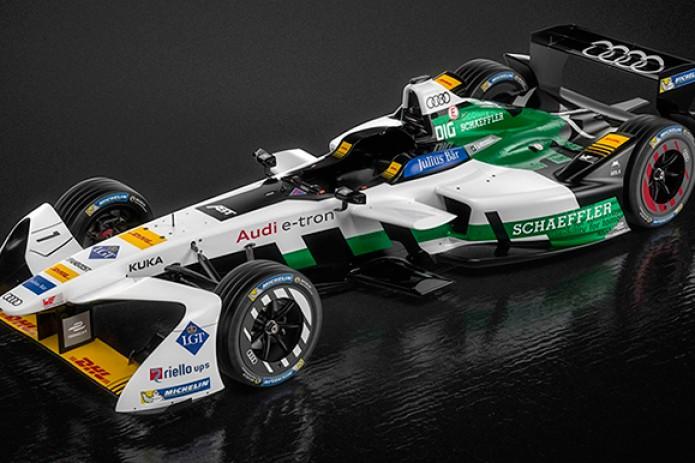 Компания Ауди представила собственный болид для чемпионата «Формула Е»— e-tron FE04