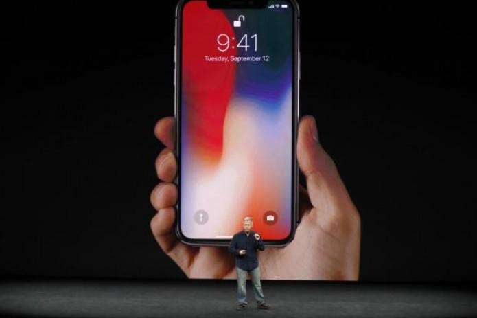 Apple представила новый iPhone X с корпусом из стекла и без кнопки'домой