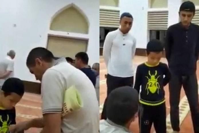 В одной из мечетей Самарканда мужчина без религиозного образования обучал маленьких детей
