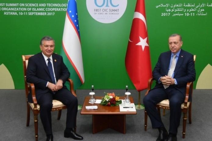 Главы Узбекистана и Турции провели переговоры в рамках саммита ОИС