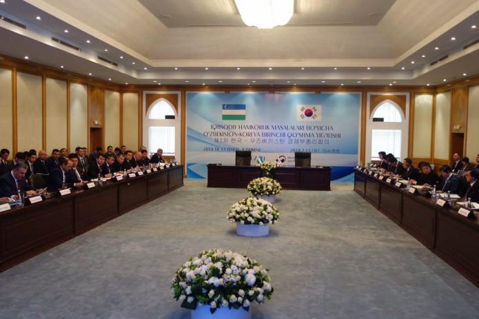 Узбекистан и Корея провели заседание по экономическому сотрудничеству