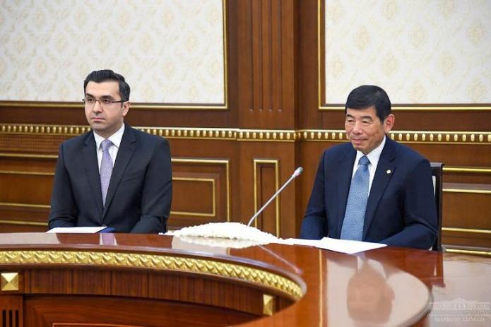 Шавкат Мирзиёев принял генерального секретаря Всемирной таможенной организации