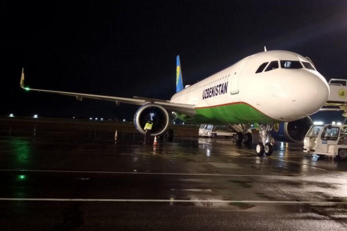 Второй Airbus А320neo Национальной авиакомпании прибыл в Узбекистан