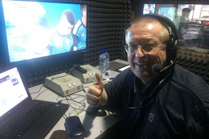 Александр Елагин комментирует матчи ЧМ-2018 на UZREPORT TV и FUTBOL TV