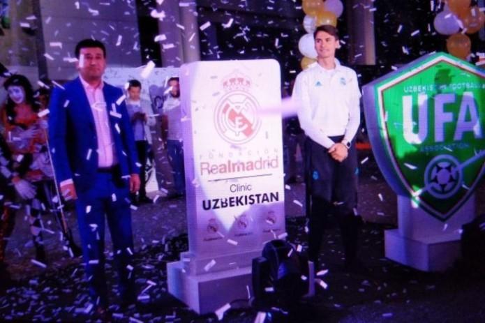 Real Madrid Foundation Clinic Program kicks off in Tashkent