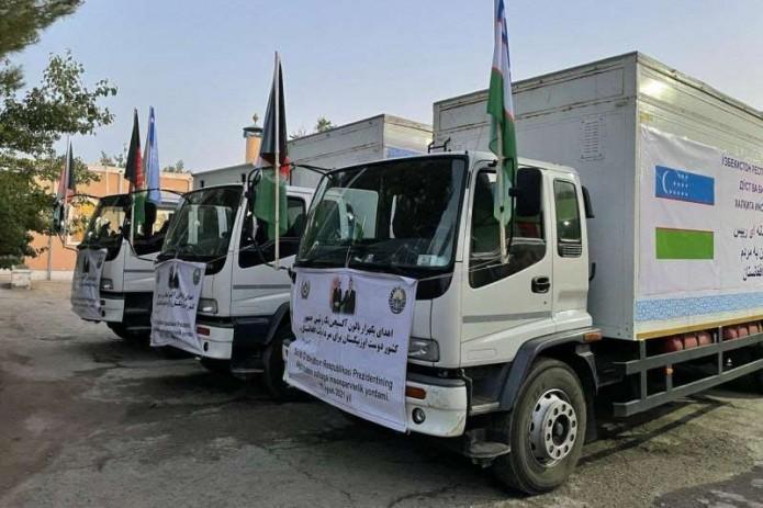 Узбекистан передал Афганистану 1000 кислородных баллонов