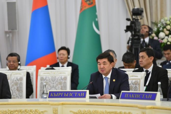 Премьер Кыргызстана призвал активизировать процесс создания банка и фонда развития ШОС