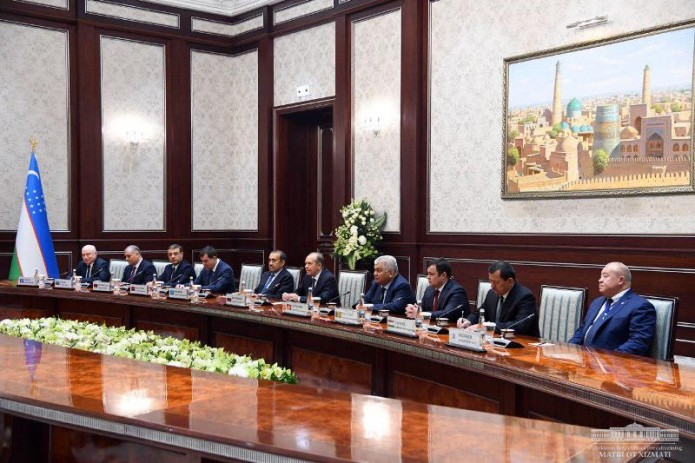 Президент Шавкат Мирзиёев принял руководителей спецслужб стран СНГ