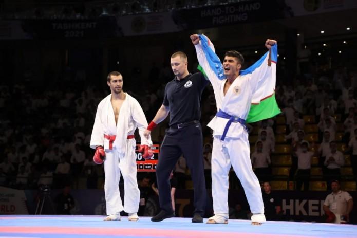 Узбекские спортсмены по рукопашному бою завоевали 8 медалей на ЧМ