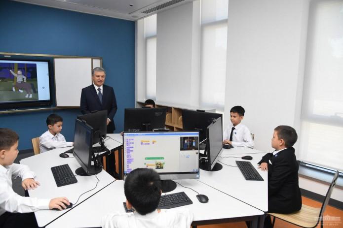В Ташкенте открылась Президентская школа