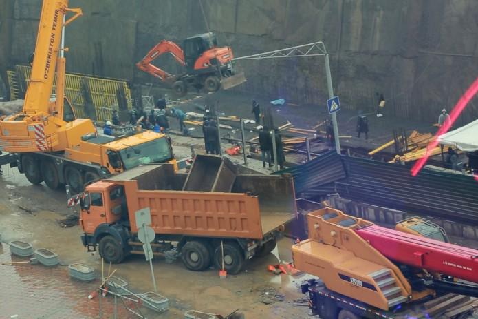 Журналистам UZREPORT TV удалось поговорить со строителями Юнусабадской ветки метро
