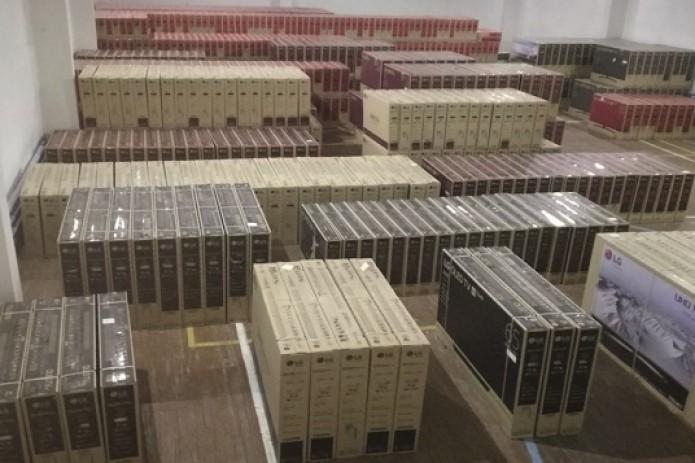 Сотрудники ГТК пресекли попытку тайного ввоза телевизоров на 5 млрд. сумов