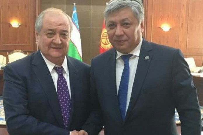 Foreign ministers of Uzbekistan and Kyrgyzstan hold talks in Bishkek