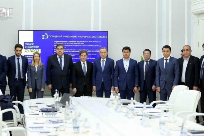 Компания «СУЭЗ» предложила создать в Узбекистане инновационную систему обеспечения и контроля воды