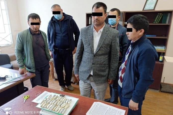 В Сурхандарье задержаны три человека, пытавшихся провезти наркотики во внутренних органах