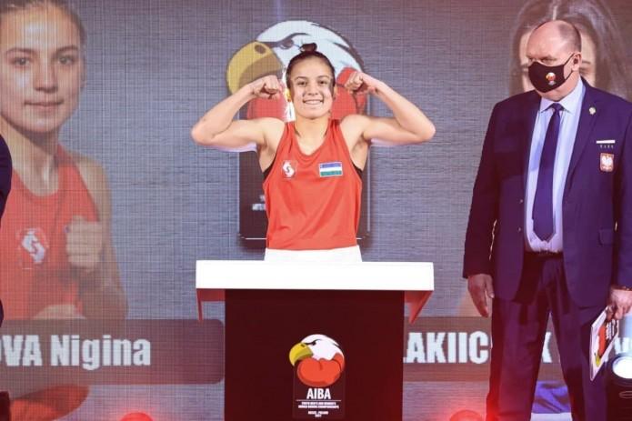 Впервые в истории узбекистанка завоевала золото на ЧМ по боксу