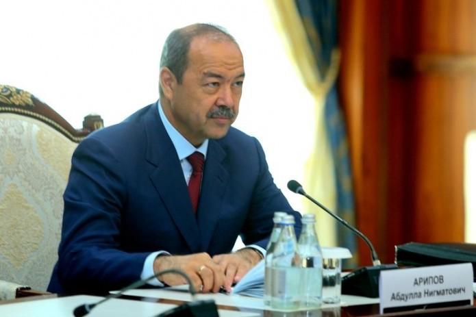 Премьер-министр Абдулла Арипов примет участие в заседании СНГ в Астане
