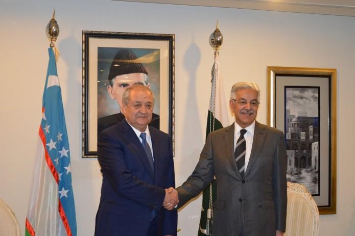 Главы МИД Узбекистана и Пакистана провели переговоры в Исламабаде