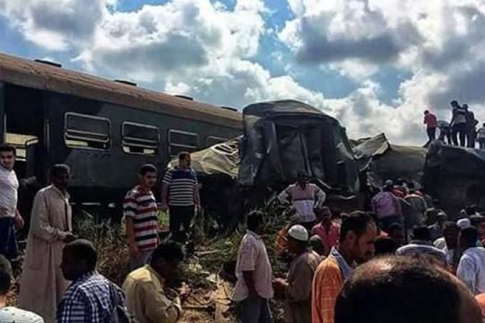 В Египте столкнулись поезда, 36 погибших