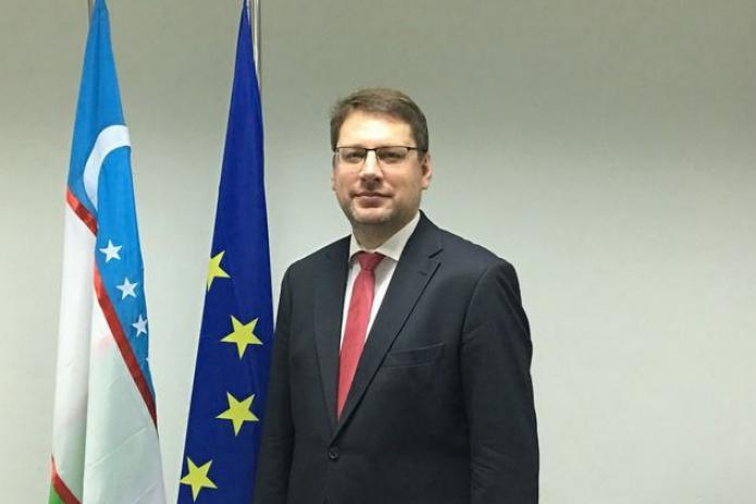 Посол ЕС в Узбекистане Эдуард Стипрайс завершает миссию в Узбекистане