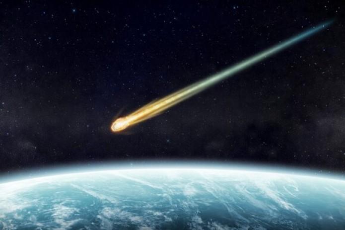 В небе над Камчаткой взорвался метеорит