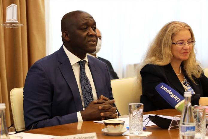 Управляющий директор IFC прибыл в Узбекистан с официальным визитом