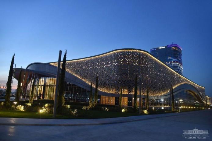 В МБЦ Tashkent City опровергли информацию об обрушении крыши в Конгресс-центре