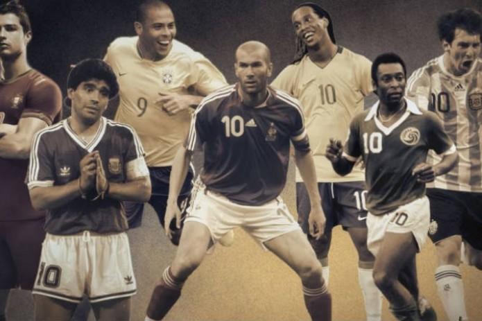 Марадона стал величайшим игроком в истории по версии FourFourTwo, Месси – второй, Роналду – пятый