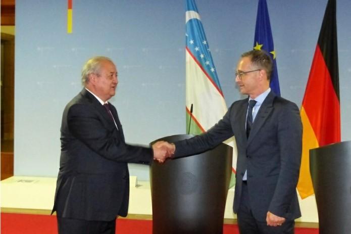 Главы МИД Узбекистана и Германии провели переговоры в Берлине