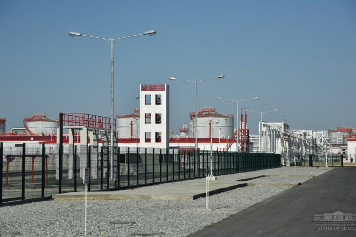 Кандымский газоперерабатывающий комплекс введен в строй