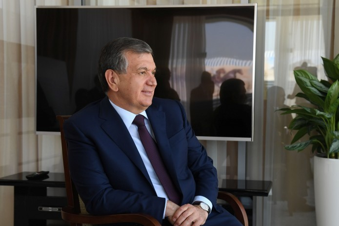 Shavkat Mirziyoyev in the list of ten leaders changing the modern world