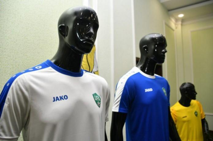 Представлена новая форма сборной Узбекистана по футболу