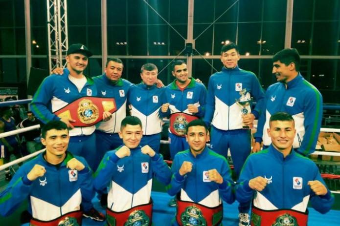 Боксеры Узбекистана завоевали первое место в международном турнире