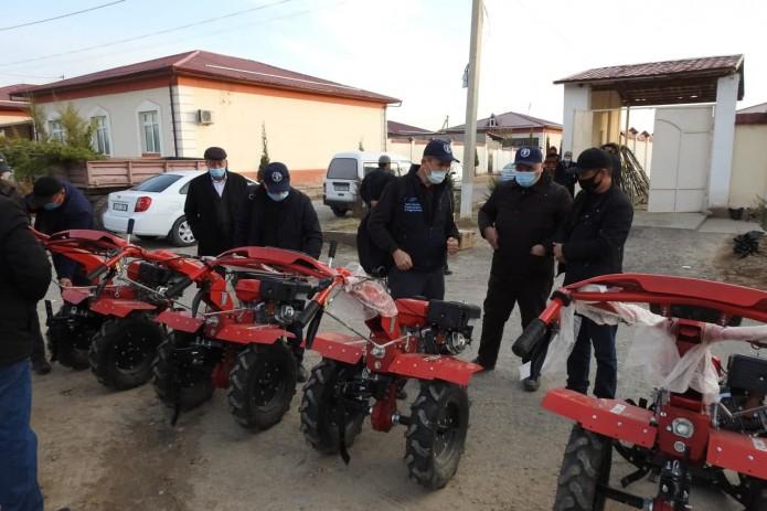 ФАО передала фермерам Кашкадарьинской области  современное оборудование