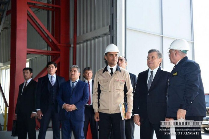 Uzmetkombinat launches production of ferro-alloys