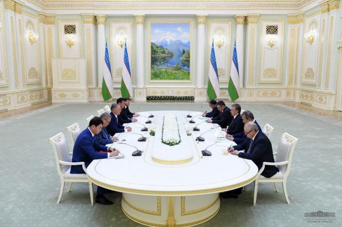 Президент Узбекистана принял председателя Мажилиса Парламента Казахстана
