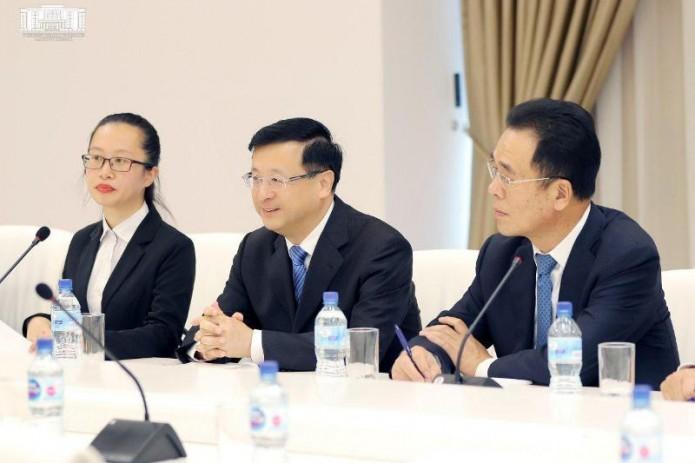 В хокимияте Ташкента прошла встреча с делегацией КНР