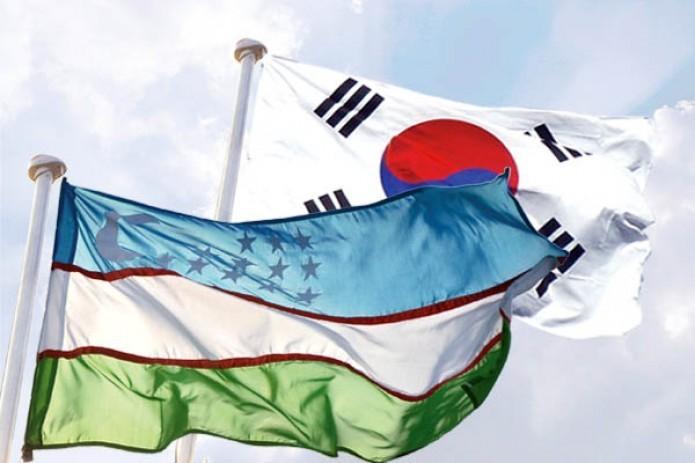 Президент Узбекистана прибыл вЮжную Корею с женой