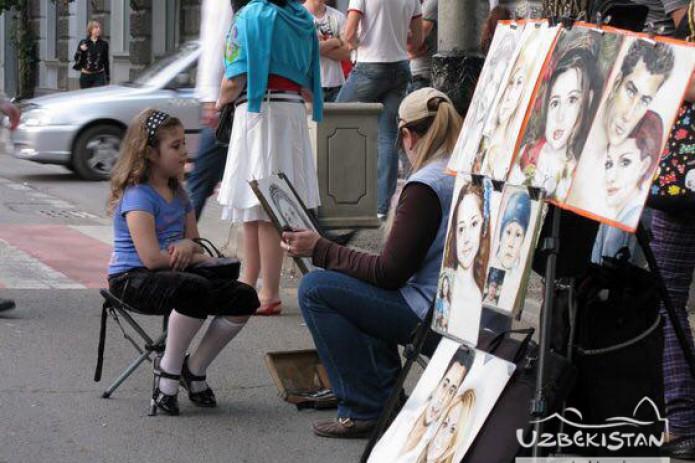 """В Бухаре появится улица """"свободных художников"""""""
