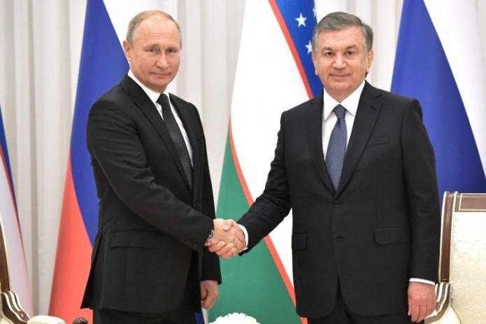 Шавкат Мирзиёев обсудил с Владимиром Путиным вопросы предстоящей встречи