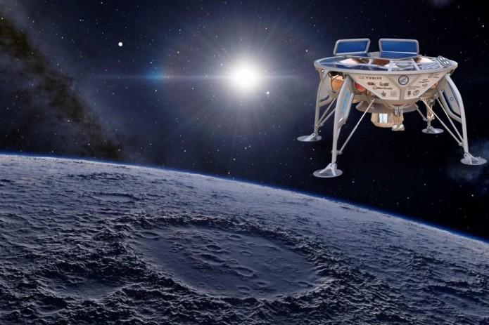 Первый лунный аппарат Израиля разбился при посадке на поверхность спутника