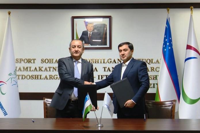 UZREPORT TV и Паралимпийский комитет заключили договор о сотрудничестве