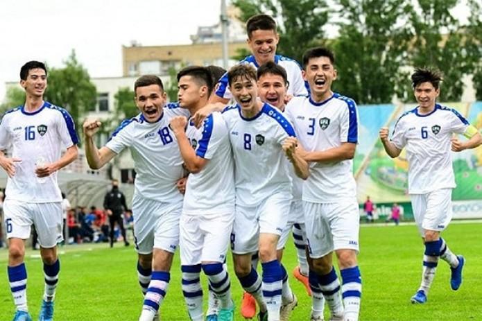 Сборная Узбекистана по футболу U-21 победила на международном турнире в Украине
