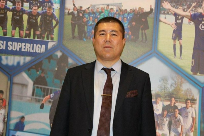 Улугбек Мирзаев возглавил футбольный клуб «Бунёдкор»