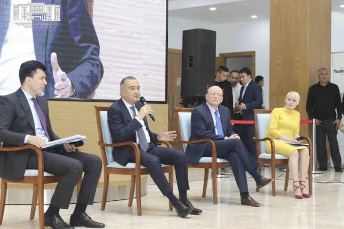 В столичном хокимияте представили проект «Ташкент 2025 Трансформация»